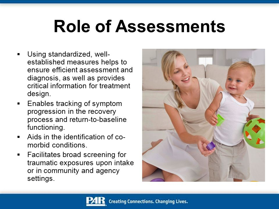 Role of Assessments