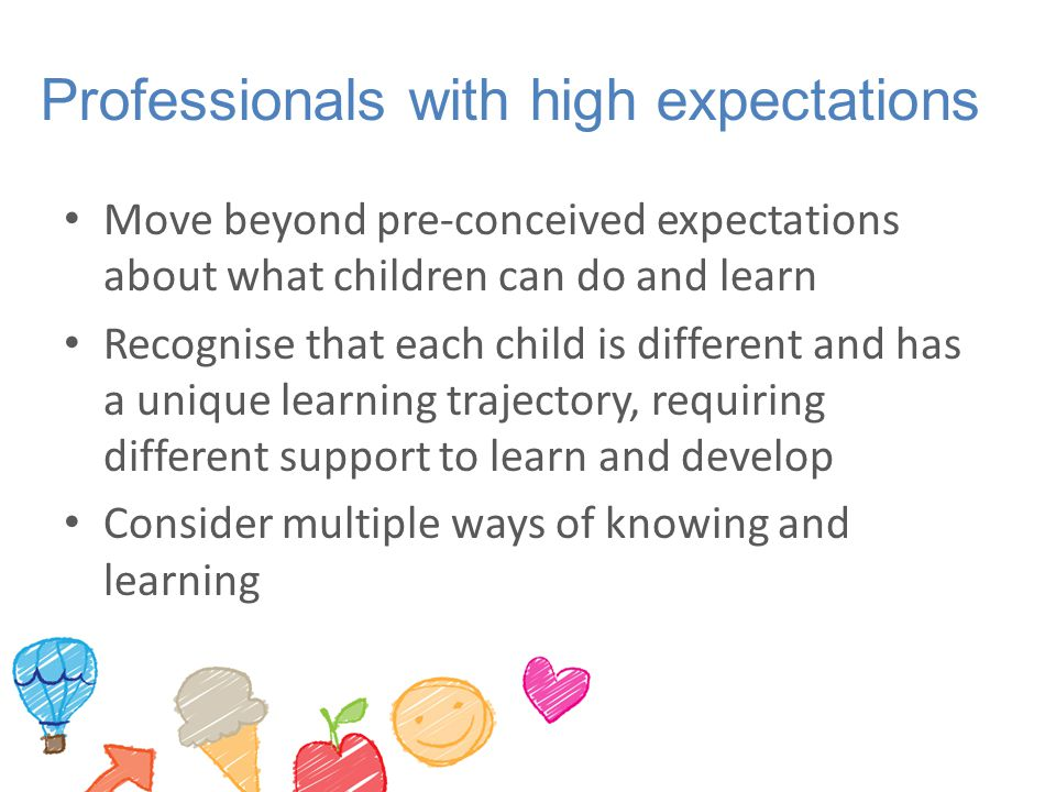 Professionals with high expectations