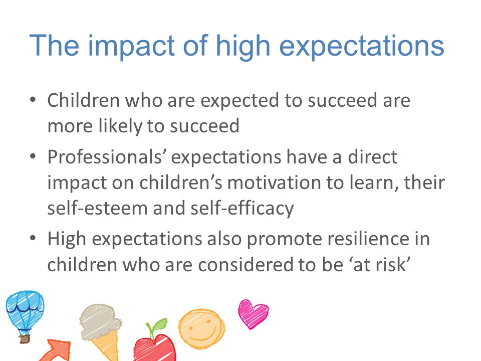 The impact of high expectations