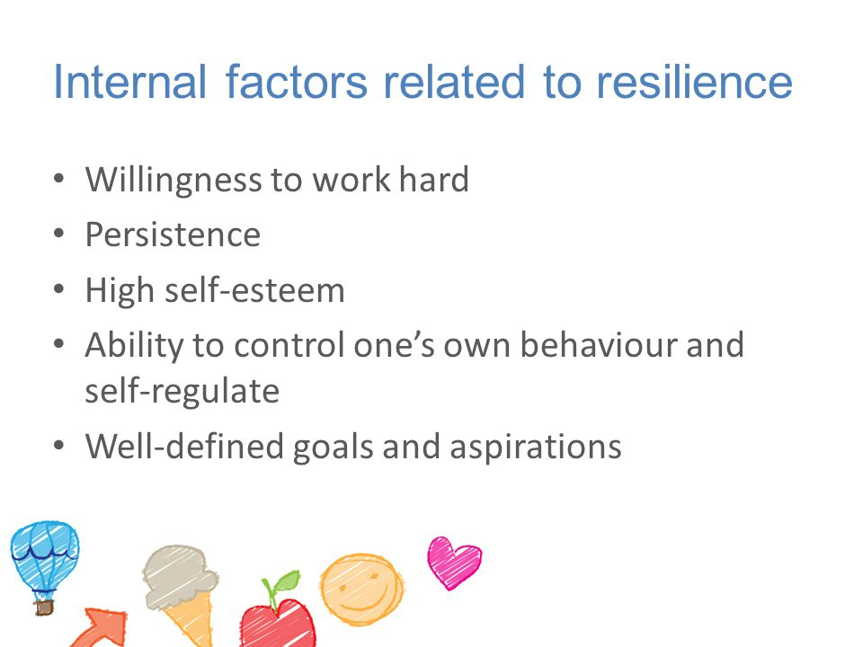 Internal factors related to resilience