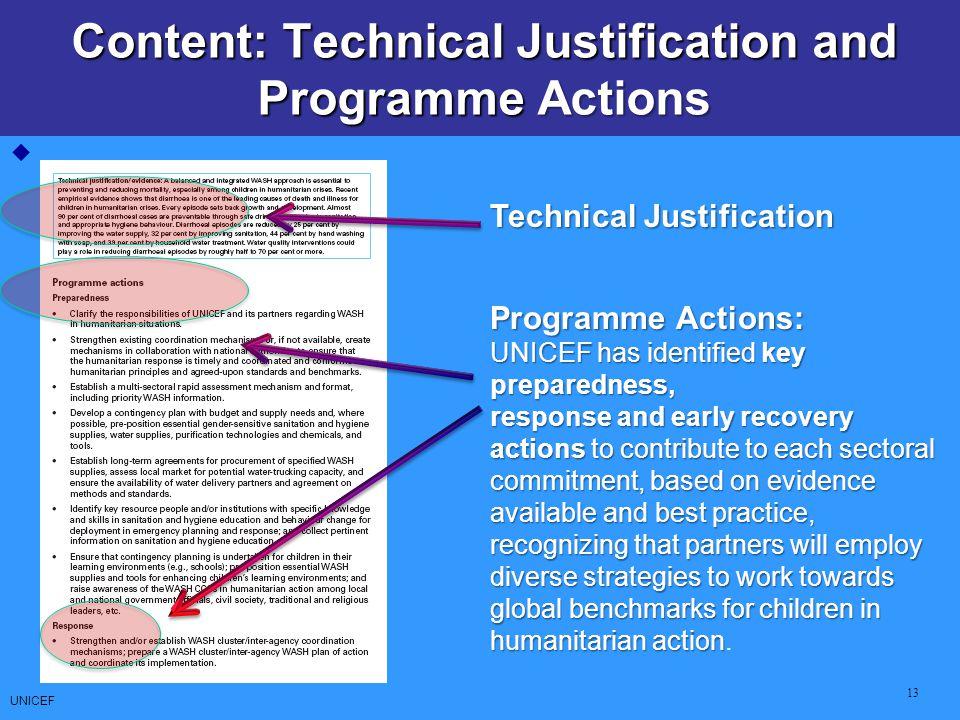 CCCs: Core Commitments for Children