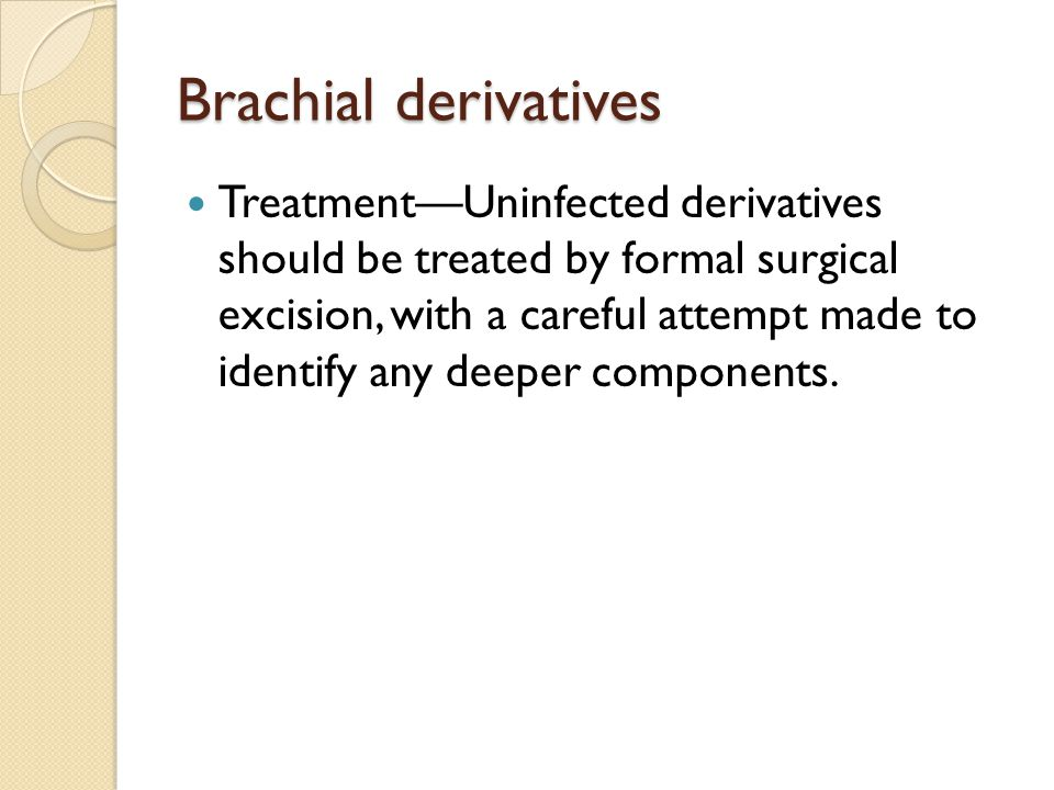 Brachial derivatives