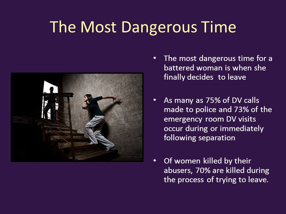 The Most Dangerous Time