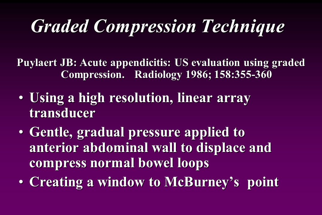 Graded Compression Technique