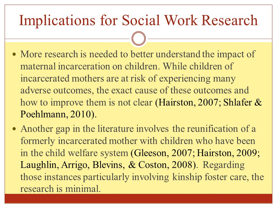Implications for Social Work Research