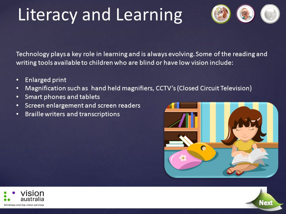 Literacy and Learning Next