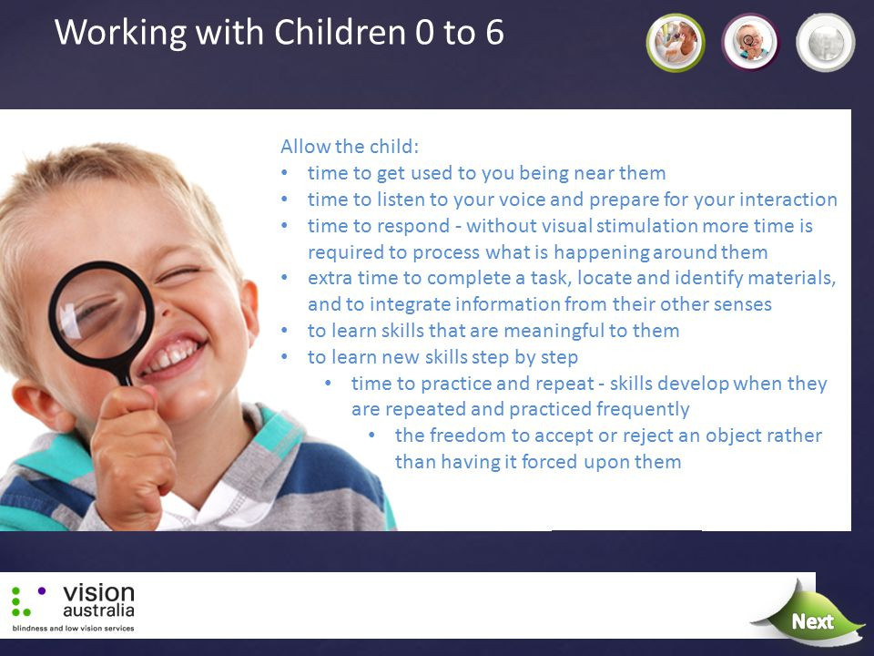 Working with Children 0 to 6