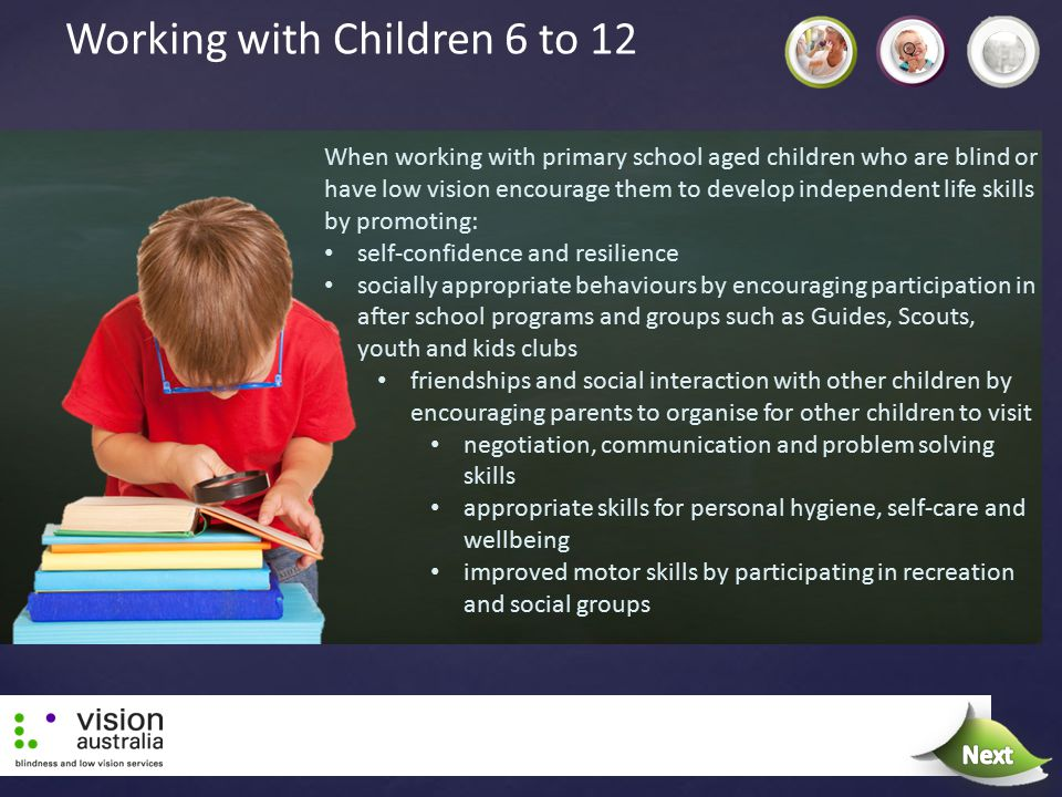 Working with Children 6 to 12