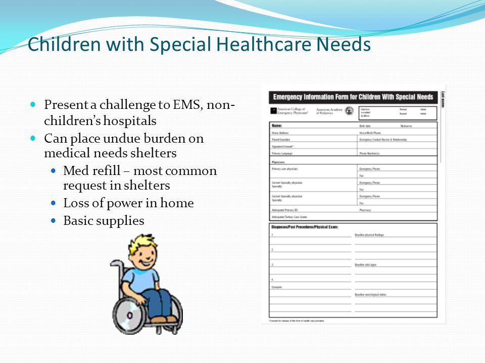 Children with Special Healthcare Needs
