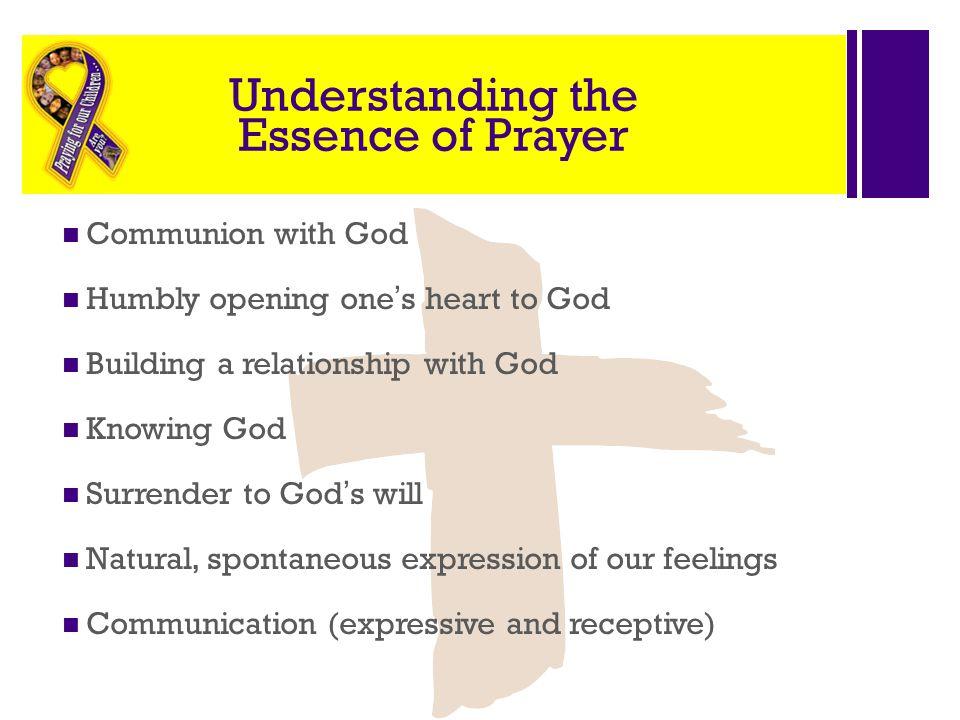 Understanding the Essence of Prayer