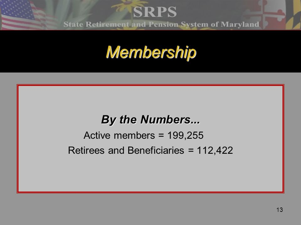 Retirees and Beneficiaries = 112,422