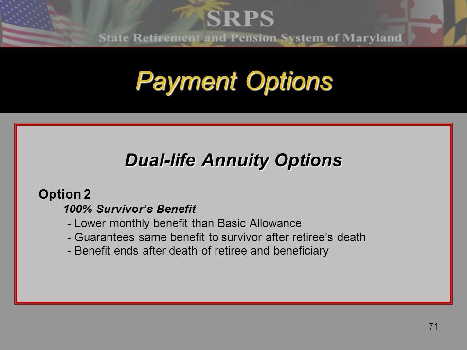 Dual-life Annuity Options