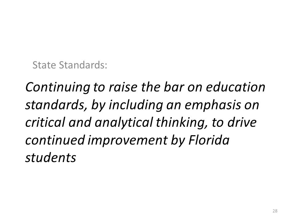 State Standards: