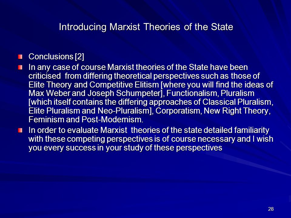 an introduction to the analysis of marxism theory Interest in marxist theory in the humanities and social sciences marxism will  have  analysis-of society and culture, however, marxism can enrich our work by  providing both a  press, 1977), in the marxist introductions series, ed  raymond.