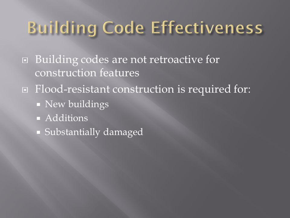 Building Code Effectiveness