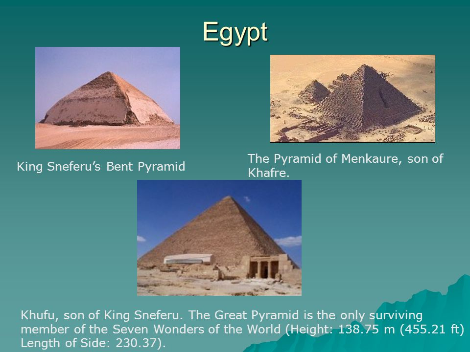 Egypt The Pyramid of Menkaure, son of Khafre.
