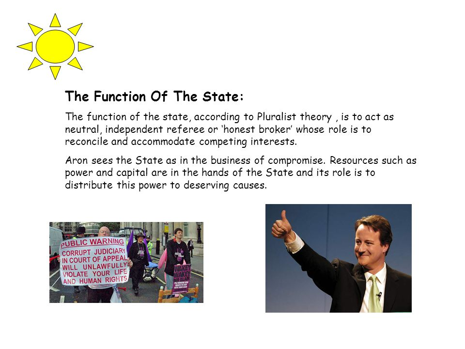 The Function Of The State: