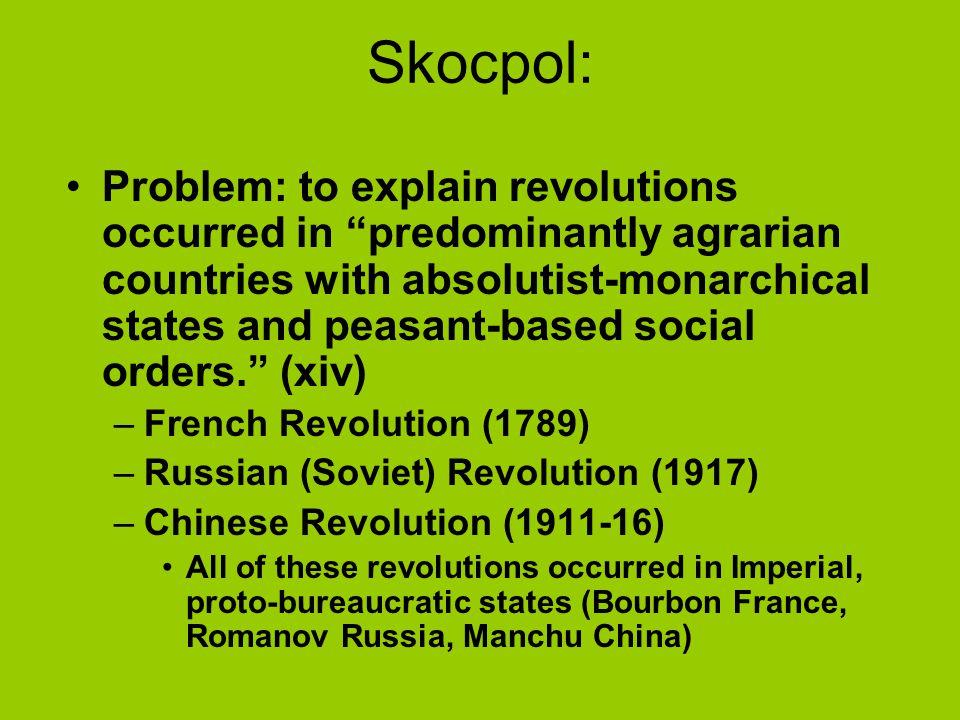 Skocpol: