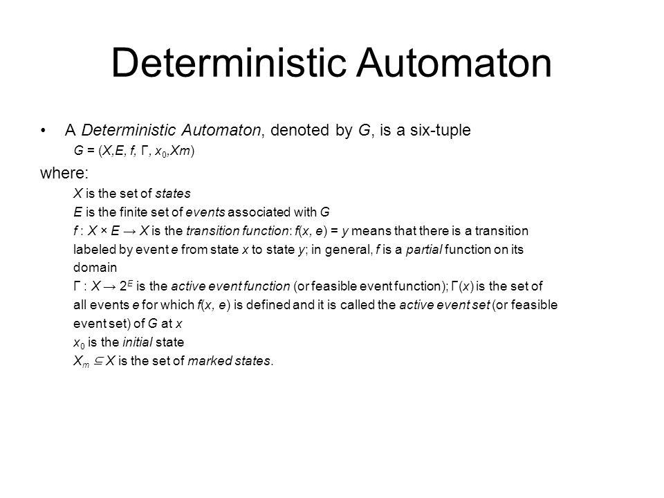 Deterministic Automaton