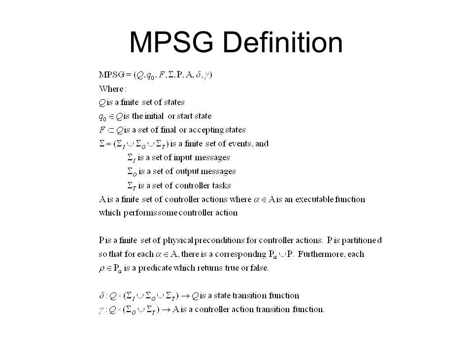 MPSG Definition