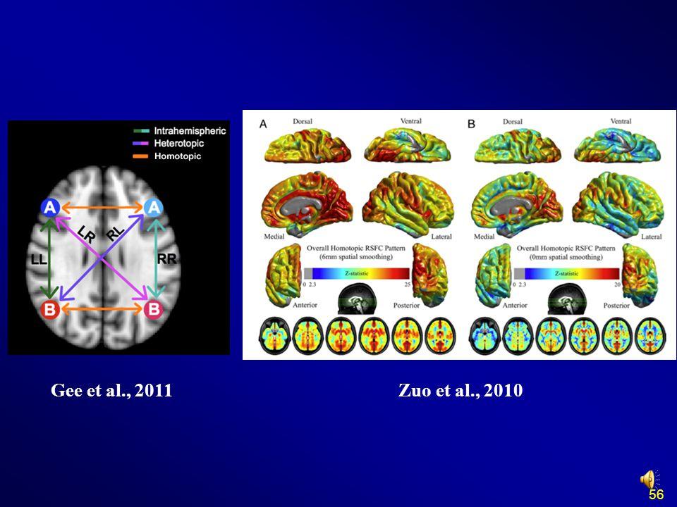 Gee et al., 2011 Zuo et al., 2010 56