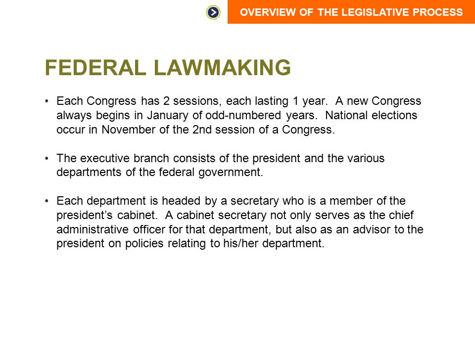 Federal Lawmaking