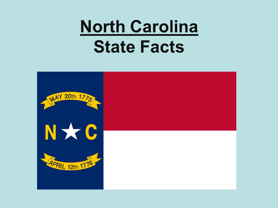North Carolina State Facts