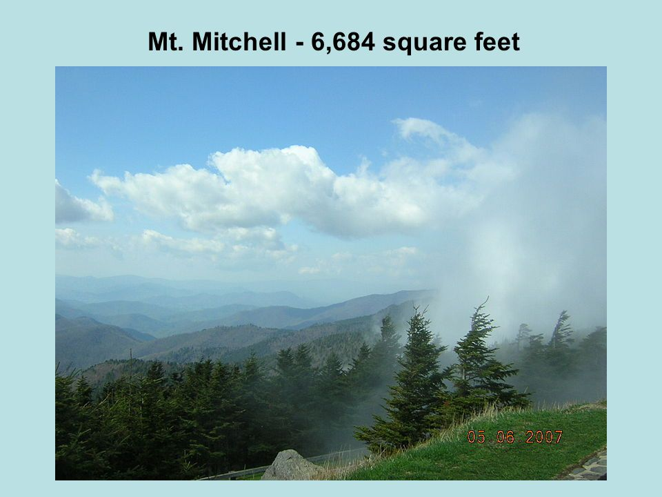 Mt. Mitchell - 6,684 square feet