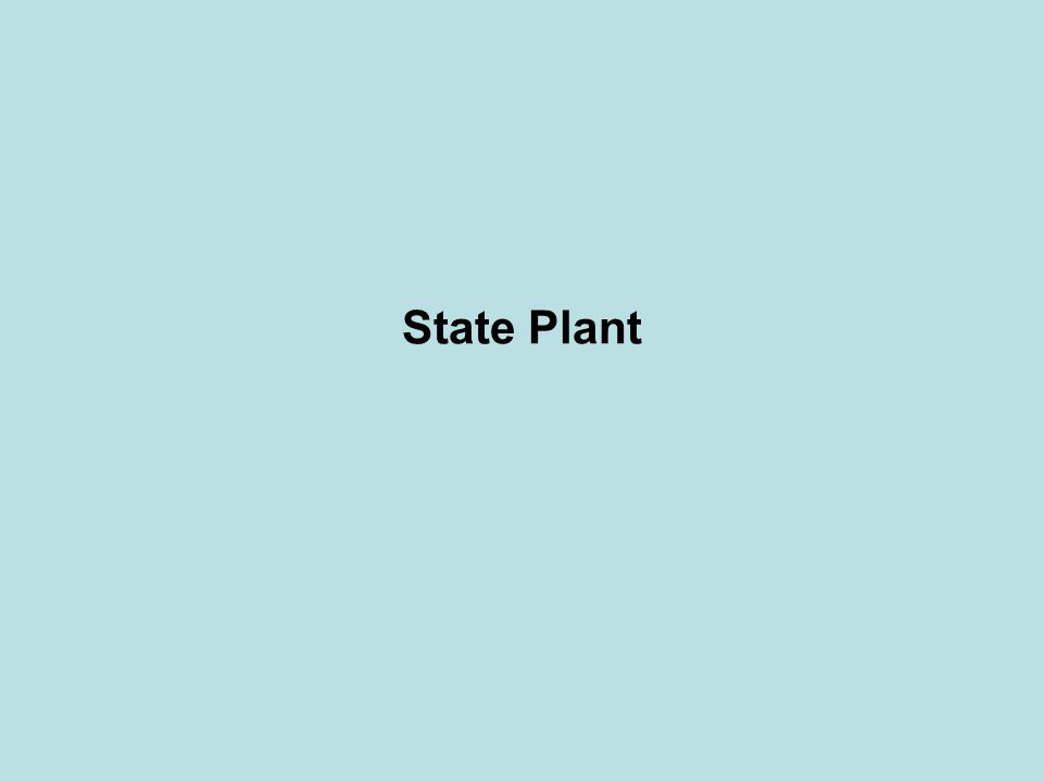 State Plant