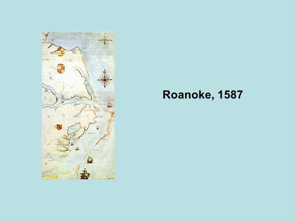 Roanoke, 1587