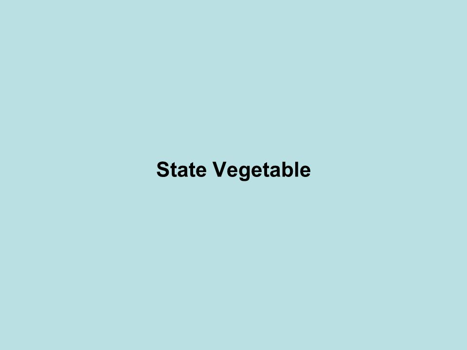 State Vegetable