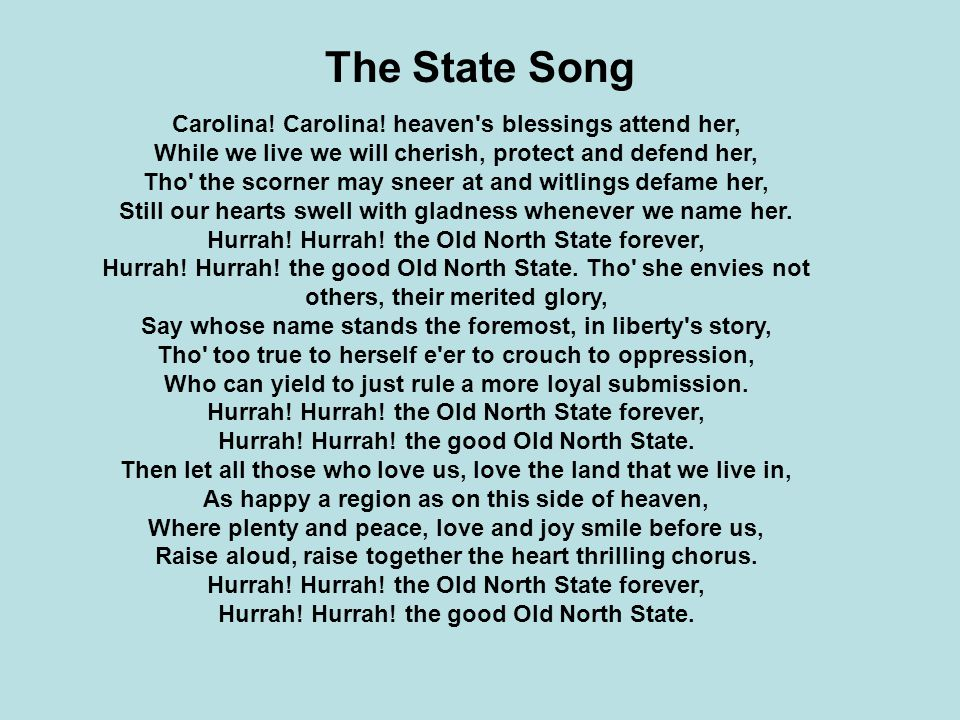 The State Song