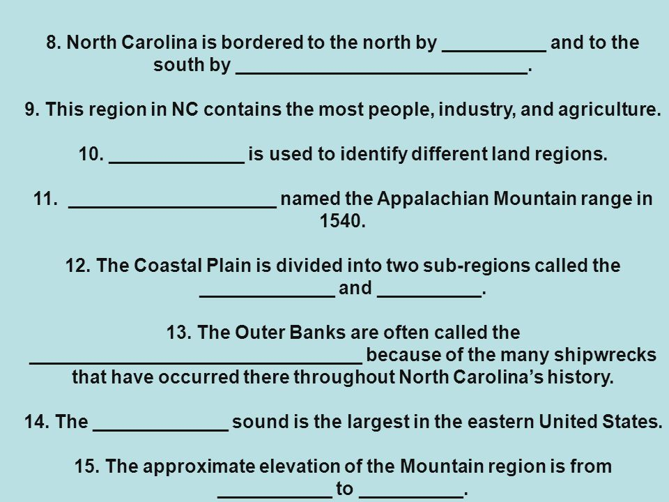 10. _____________ is used to identify different land regions.