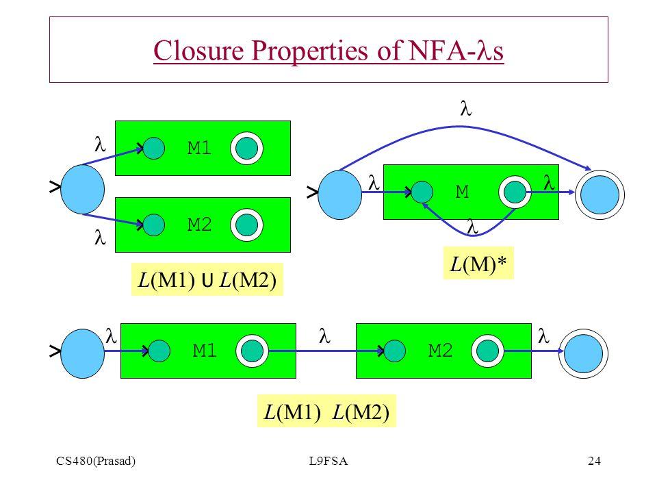 Closure Properties of NFA-ls