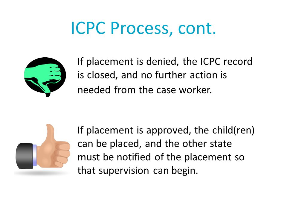 ICPC Process, cont.