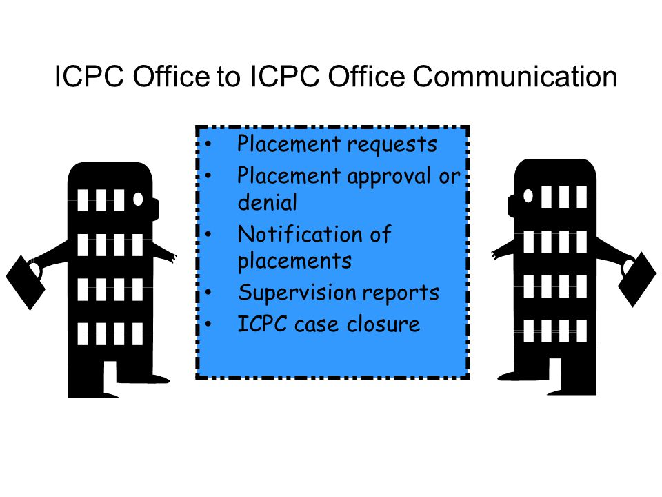 ICPC Office to ICPC Office Communication