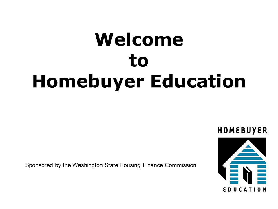 Welcome to Homebuyer Education