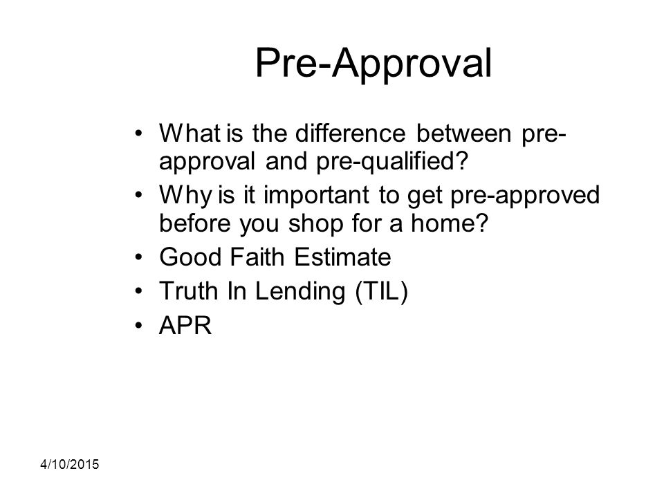 Welcome to homebuyer education ppt download for What not to do before closing on a house