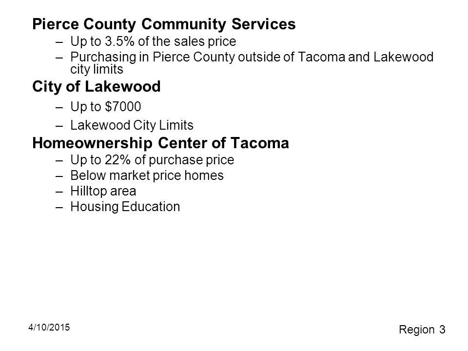 Pierce County Community Services
