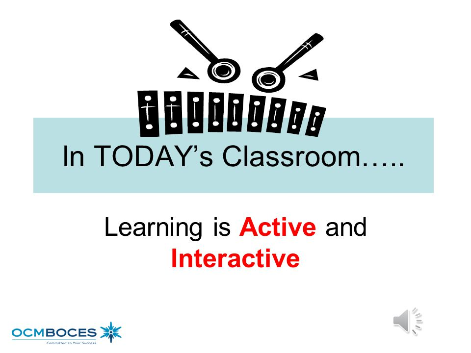 Learning is Active and Interactive