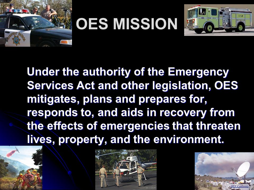 OES MISSION