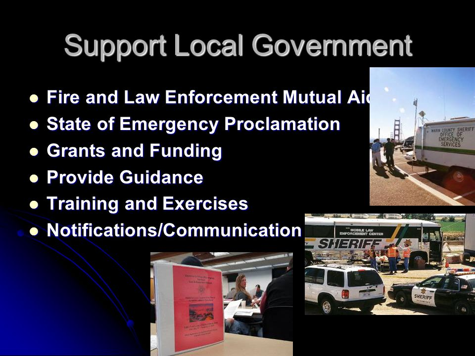 Support Local Government
