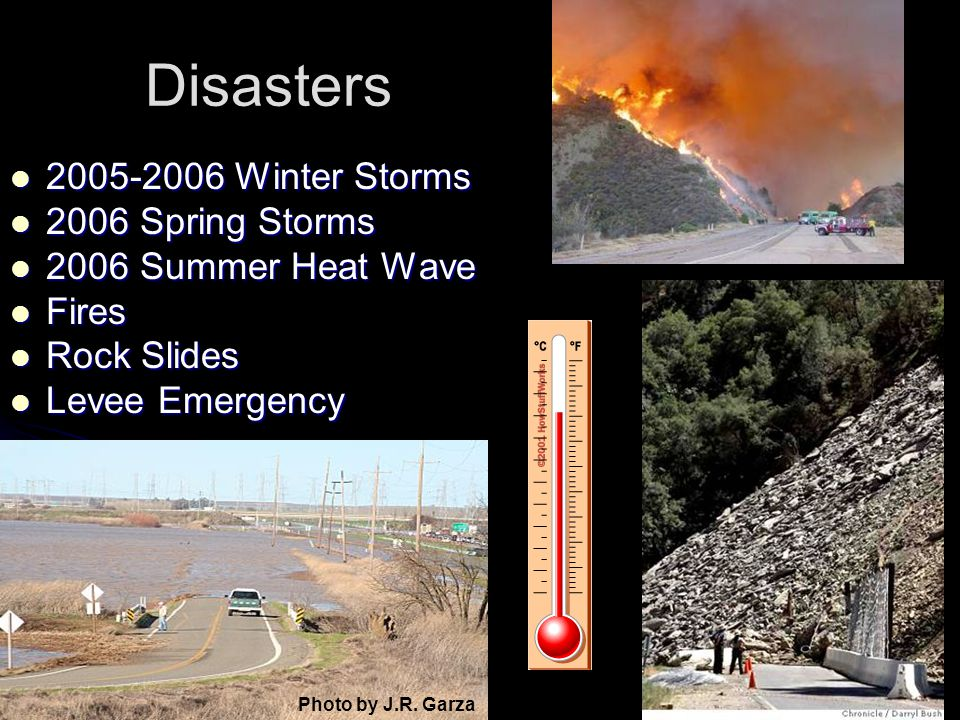 Disasters 2005-2006 Winter Storms 2006 Spring Storms