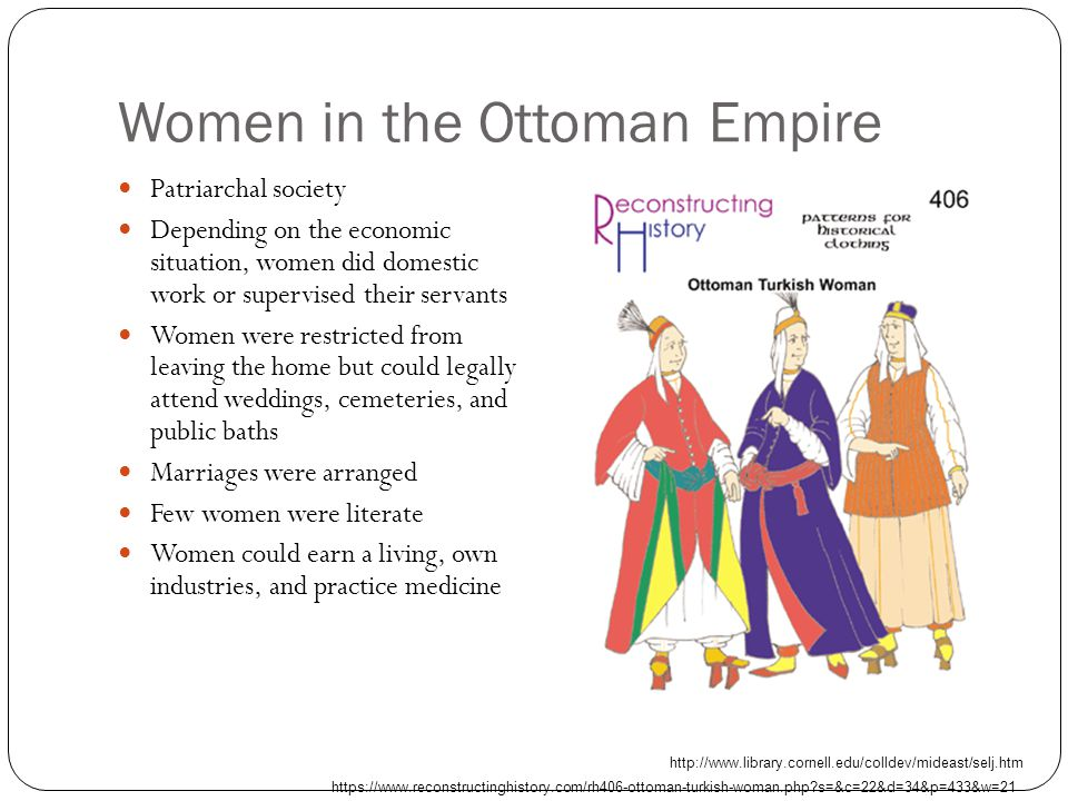 Women in the Ottoman Empire