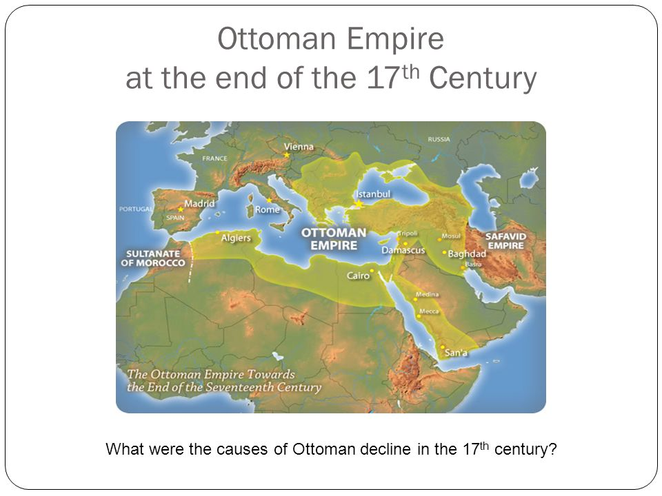 Ottoman Empire at the end of the 17th Century