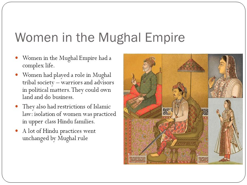 Women in the Mughal Empire
