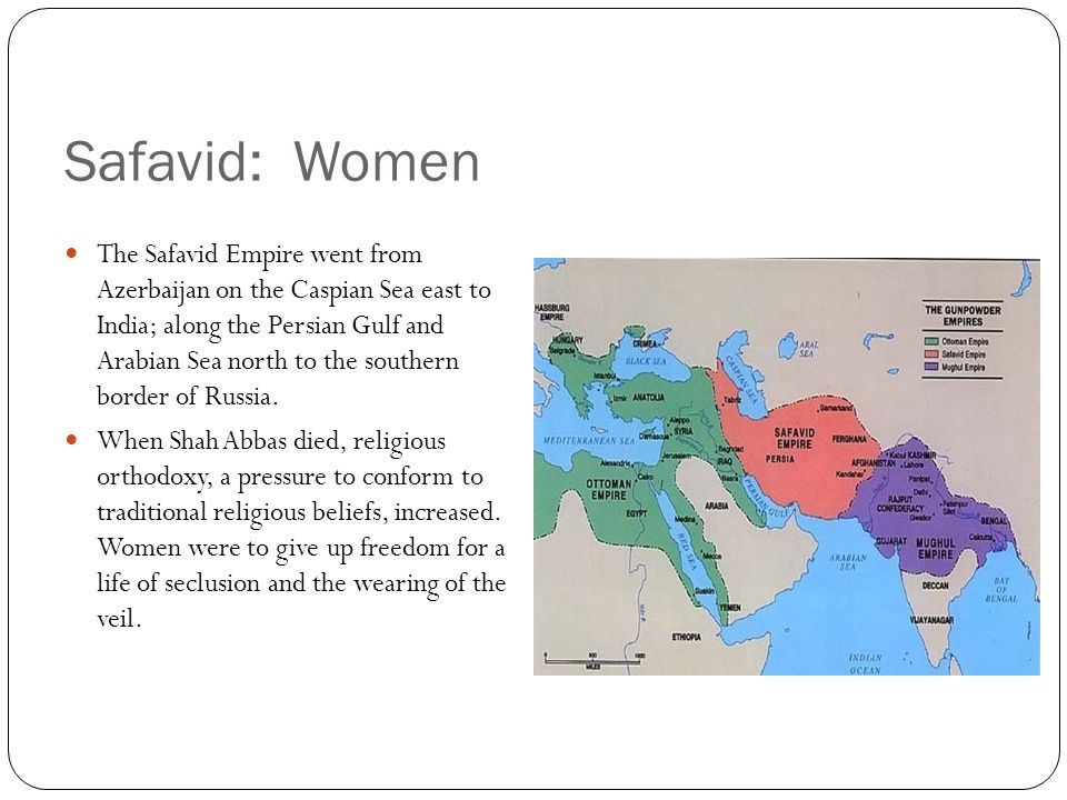 Safavid: Women