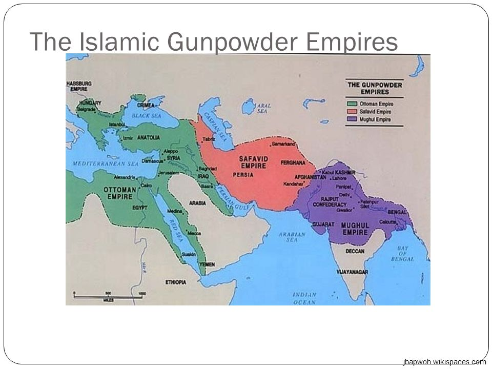 The Islamic Gunpowder Empires