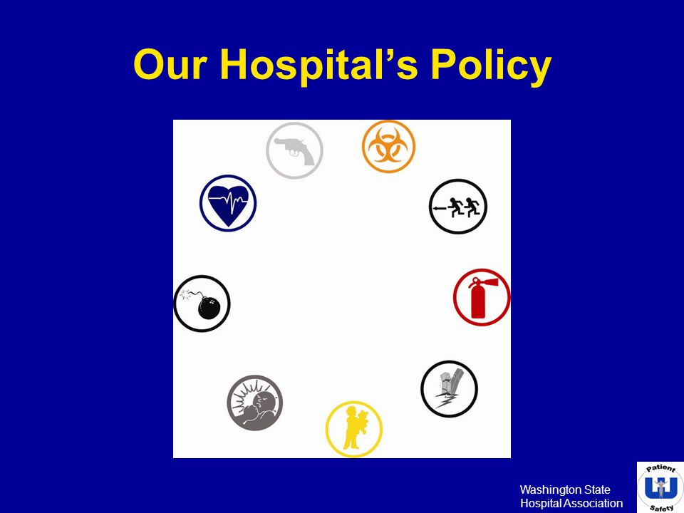 Our Hospital's Policy To add picture