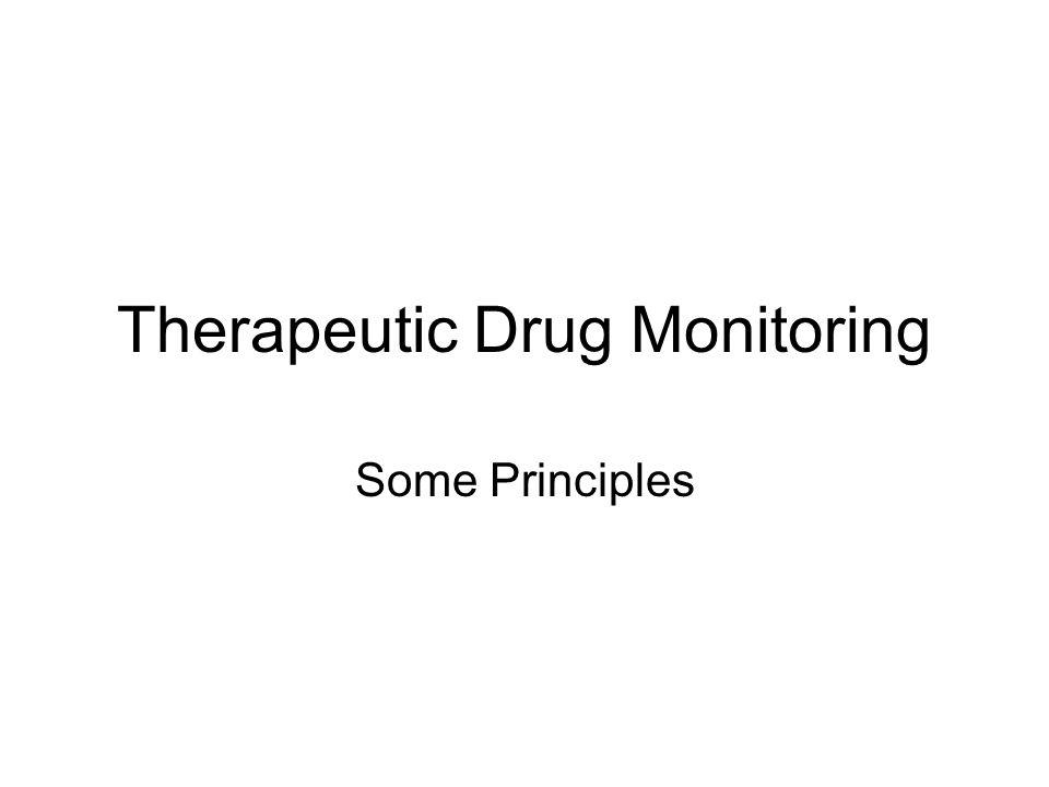 Therapeutic Drug Monitoring